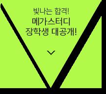 빛나는 합격! 메가스터디 장학생 대공개!