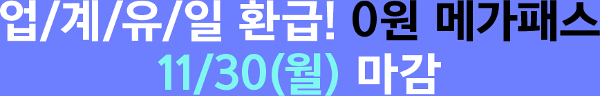 이 구성 11/30(월) 마감