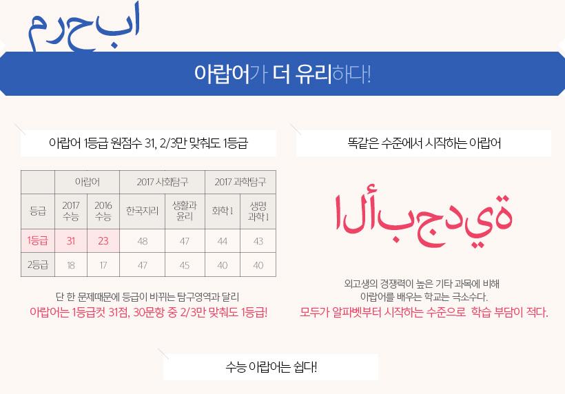아랍어가 더 유리하다!
