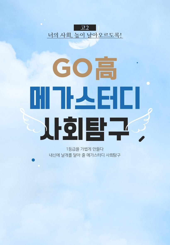 GO高 메가스터디 사회탐구