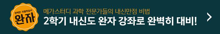 내신대비 완자 강좌 신규 개강