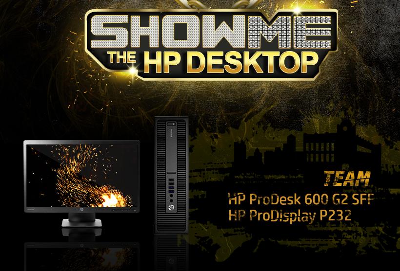 SHOW ME THE HP DESKTOP / TEAM HP ProDesk 600 G2 SFF / HP ProDisplay P232