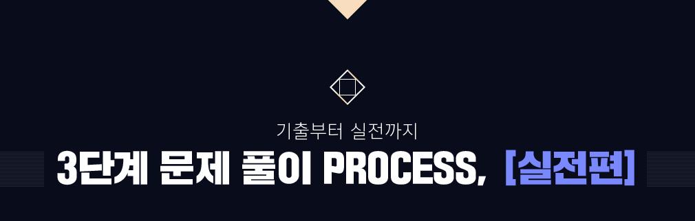 기출부터 실전까지 3단계 문제 풀이 PROCESS 실전편