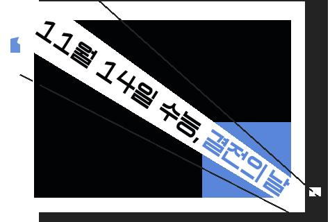 11월 14일 수능, 결전의 날
