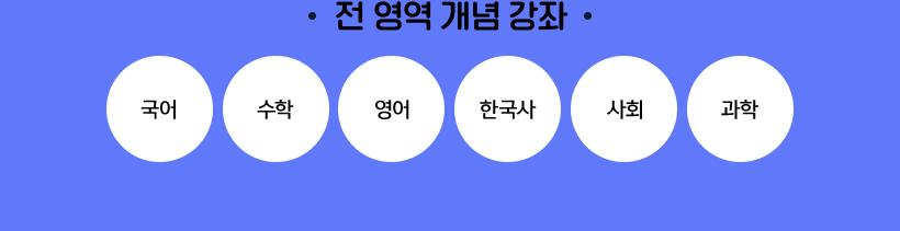 전과목 개념 강좌