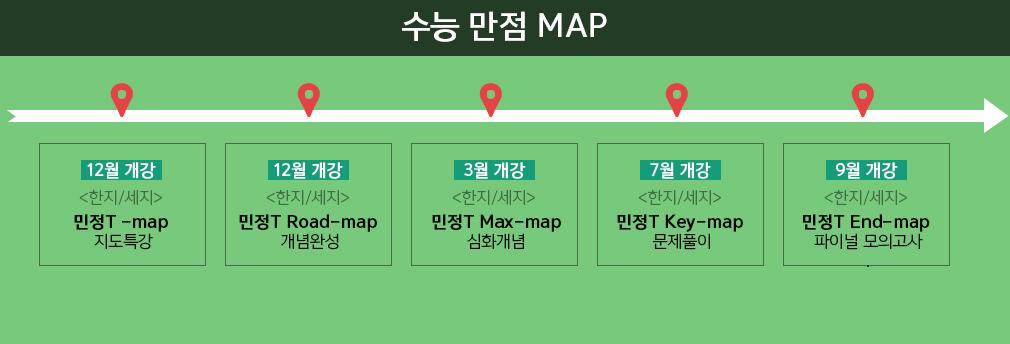 수능 만점 MAP